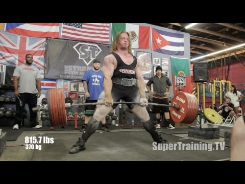 Thumbnail: Dan Green 2,160 lbs World Record Raw Total | Official Video | SuperTraining.TV