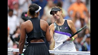 Naomi Osaka vs. Belinda Bencic | US Open 2019 R4 Highlights