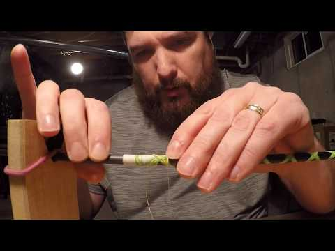 How To Build A Custom Fishing Rod (Part Two Decorative Wraps)