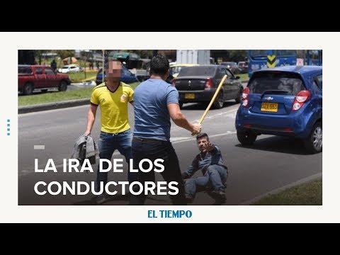 c63d829c10b Ira de los conductores cuando están en las vías - Bogotá - ELTIEMPO.COM