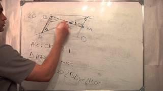 Пробный ГИА 2012 математике.20.репетитор.Параллелограмм.