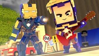 Minecraft: WHO'S YOUR DADDY? - O BEBÊ PESTINHA DO IRON MAN AZUL!