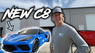 I delivered Cleetus McFarland's new C8. Plus we had to mod it. (behind the scenes)