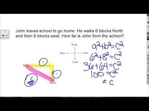 Pythagorean Theorem Real World Examples - YouTube