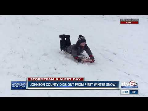 Johnson County digs out from first winter storm
