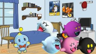 Chao Finds the Boo Characters a House!