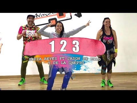 1 2 3 - Sofia Reyes ft. Jason derulo & De la Ghetto / ZUMBA con ALBA DURAN