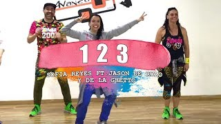1 2 3 - Sofia Reyes ft. Jason derulo & De la Ghetto / ZUMBA con ALBA DURAN Video
