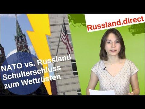 NATO vs. Russland: Schulterschluss zum Wettrüsten