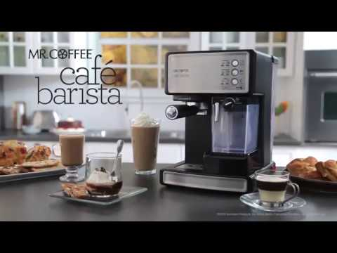 Mr. Coffee Café Barista para espresso 3 en 1
