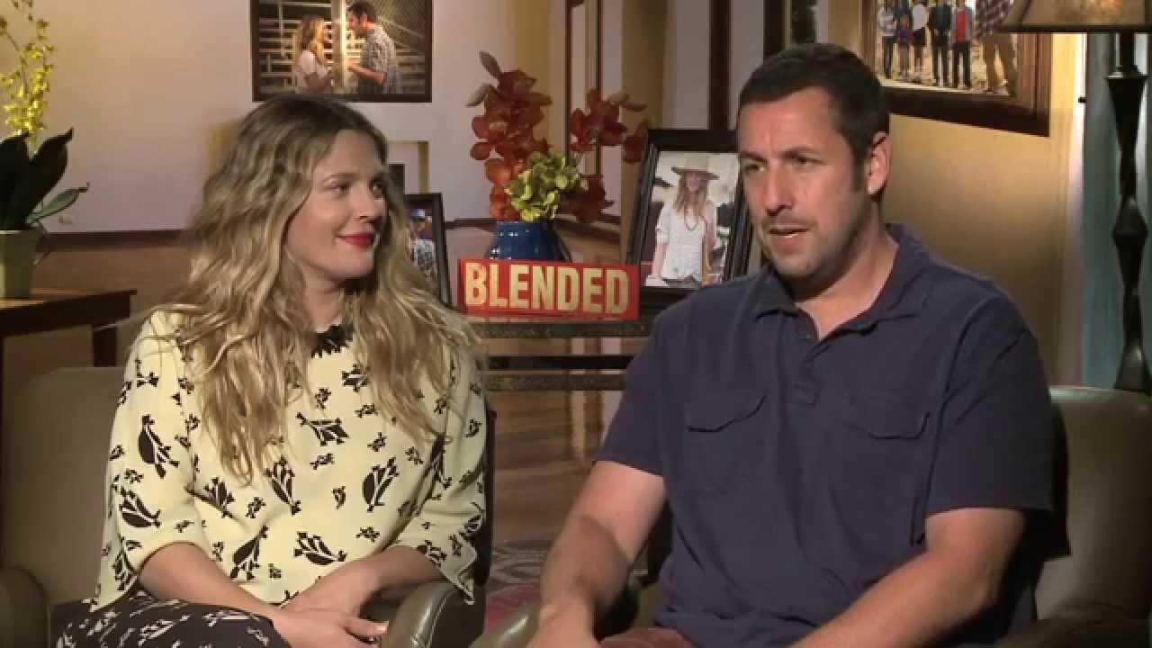 Adam Sandler Cosby Show blended interviews: adam sandler, drew barrymore and wendi mclendon-covey