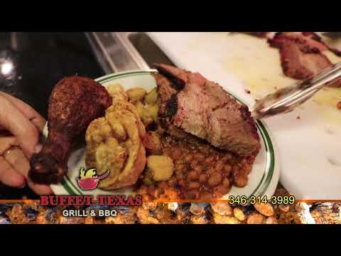 Buffet Texas Grill & BBQ In Houston, Texas