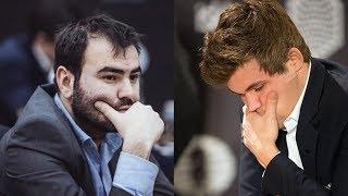Шахматы. Мамедьяров - Карлсен: потенциальные лидеры выясняют отношения