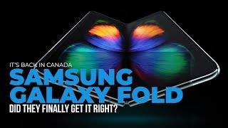 Hands On With the Samsung Galaxy Fold in Canada
