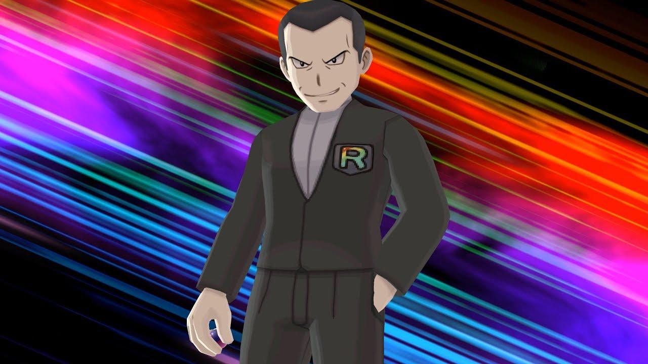 Pokemon Ultra Moon: Team Rainbow Rocket Leader Giovanni