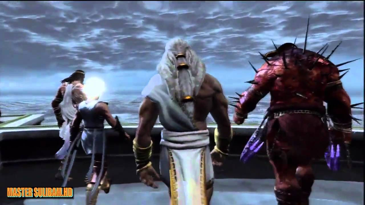 Dios De La Guerra God Of War 3 Movie Hd Sub Español Part 1 Youtube