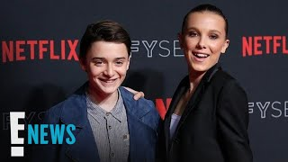 Millie Bobby Brown & Noah Schnapp Dance at Pre-Emmys Party | E! News