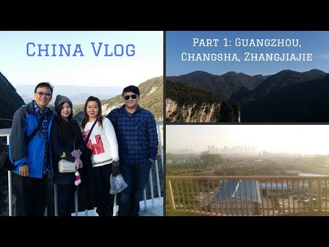China Vlog | Part 1: Travelling, Guangzhou, Changsha, and Zhangjiajie