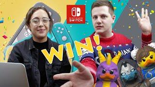 WIN a Nintendo Switch Lite 🎉 TUBBZ #CosplayingDucks Competition!