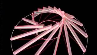 видео Коническая и купольная стропильная система крыши
