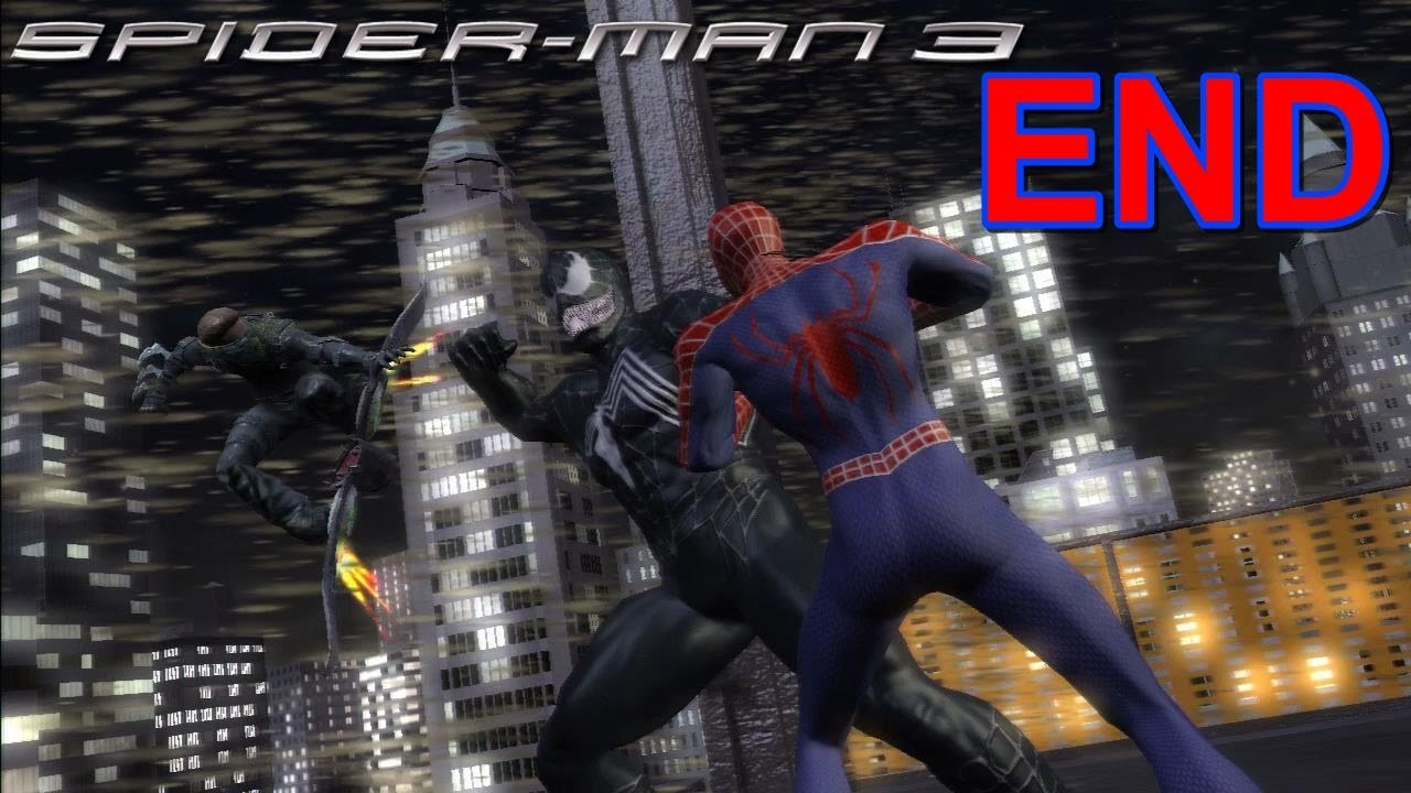 spider-man 3 ps3 gameplay #16: spidey & new goblin vs venom