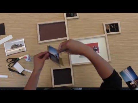 DNP DIY Wood Frame Photo Frame