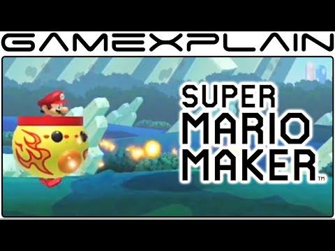 Download] Super Mario Maker New Features Fire Koopa Clown Car Bumpers ...