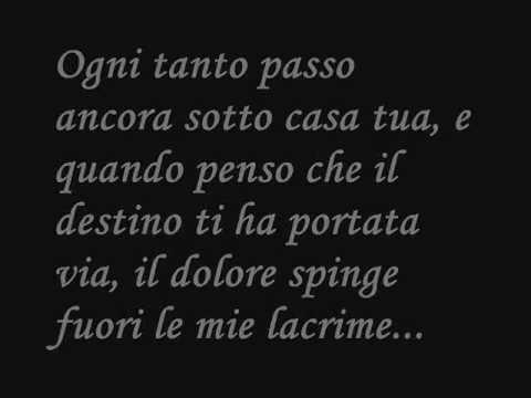 Ricordati di noi-Valerio Scanu+testo