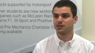 Motorsport Engineering & Management MSc at Cranfield University
