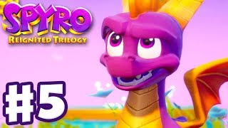 Spyro Reignited Trilogy - Spyro The Dragon - Gameplay Walkthrough Part 5 - Dream Weavers (120%)