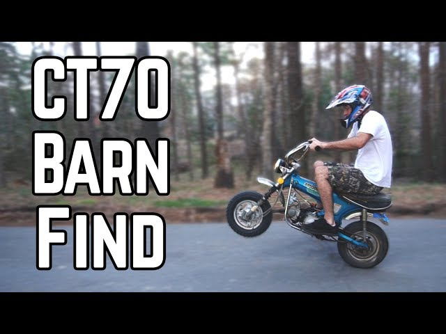 Honda Trail 70: The Street Legal Mini Bike!