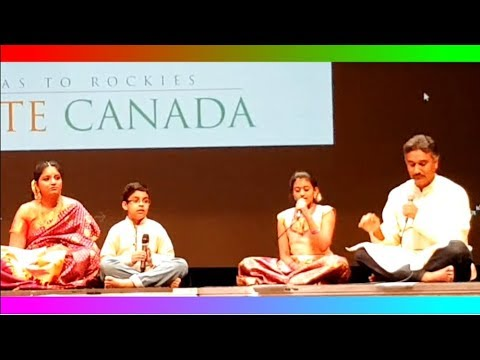 Namaste Canada 2017 (Part 2:16) Classical Raagas in Movies - Avatar Arts Academy