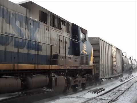 CSX & Amtrak at Buffalo-Depew, NY