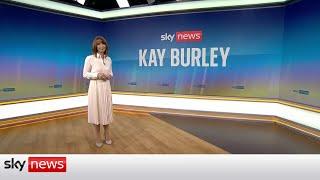 Kay Burley: Tory reaction to Lib Dem win, DUP revolt, Rape review, Euro 2020 & Mark Drakeford
