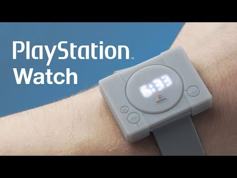 Celebrate the Iconic Sony PlayStation With This Watch
