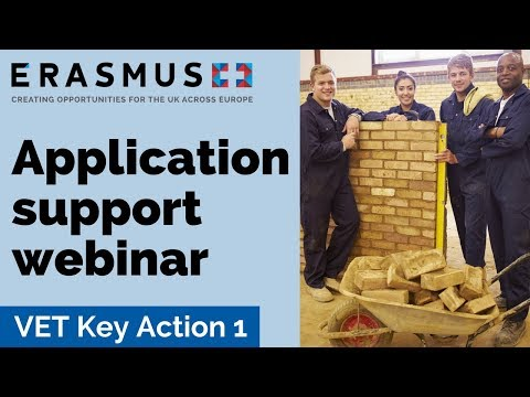 2018 Call Webinar: Vocational Education and Training Key Action 1 - Completing the application eForm