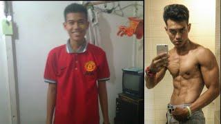 Body transformation dari 50 kg menjadi 75 kg
