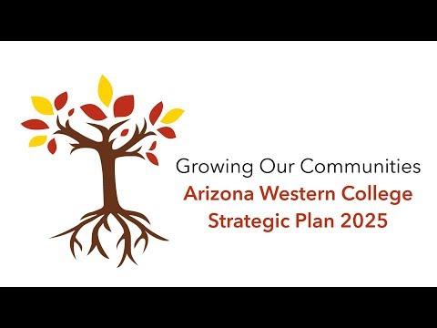 Arizona Western College Strategic Plan 2025 Unveiling