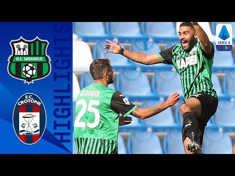 Sassuolo Crotone Goals And Highlights