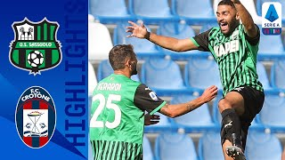 Sassuolo 4-1 Crotone | Sassuolo Go Top After Caputo Brace Claims 3 Points! | Serie A TIM
