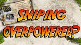 Black Ops 2 - Is Sniping Way To Overpowered and Easy + A Sniping Playlist!?