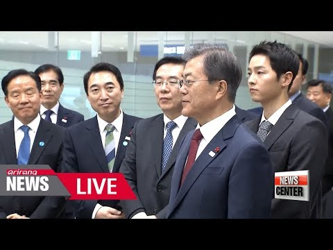 [LIVE/NEWSCENTER] Pres. Moon congratulates completion of Terminal 2 of Incheon Airport - 2018.01.12