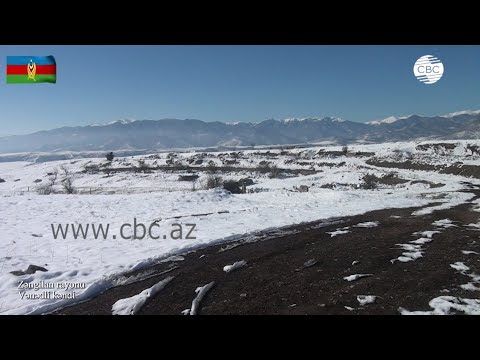 Видеокадры из села Венедли Зангиланского района
