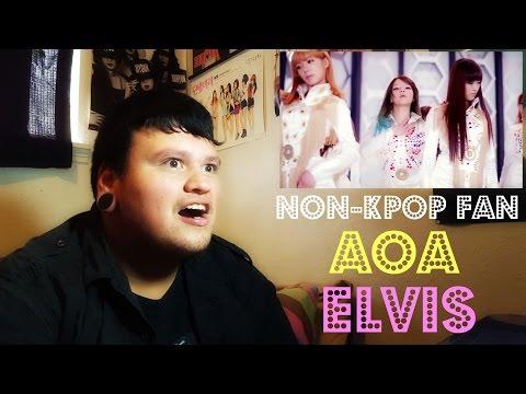 [Non-Kpop Fan] AOA - ELVIS MV Reaction