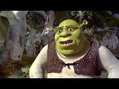 Shrek trailers