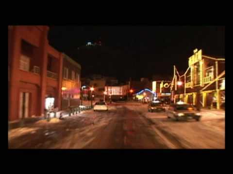 Hakodate winter night Drive