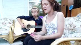 A.M.E.R.I.C.A - Motionless In White - Acoustic Female Vocal Cover - Rebbekah and Lucy Lawes