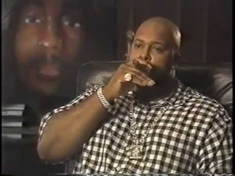 Suge Knight  one week after Tupac's Death