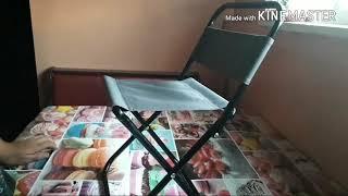 Обзор на раскладной стул.