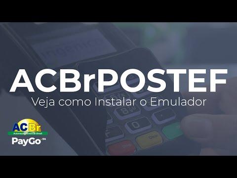 ACBrPOSTEF: Instalando o Emulador